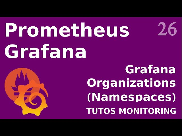 GRAFANA - 26. ORGANIZATIONS (OU NAMESPACE)