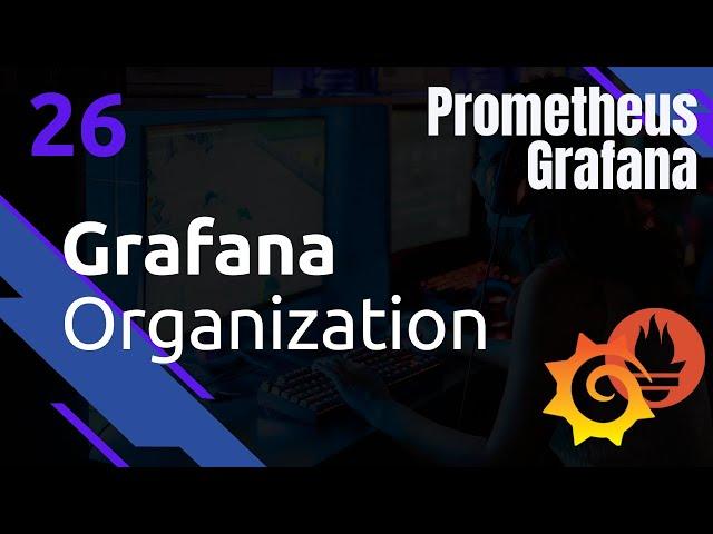GRAFANA - 26. ORGANIZATIONS (OU NAMESPACE)