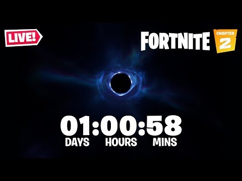 FORTNITE BLACK HOLE EVENT LIVE!! New Season 11 Battle Pass & Map Leaked! (Fortnite Battle Royale)
