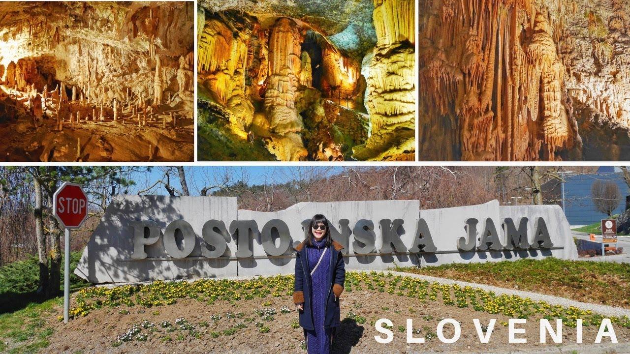 Vlog??【Slovenia】溶洞|Postojna Cave? - YouTube