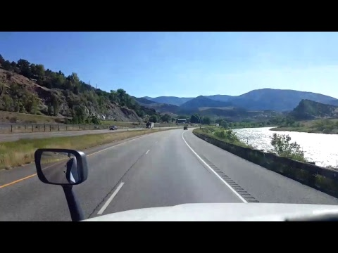 BigRigTravels LIVE! Parachute to near Glenwood Springs, Colorado Interstate 70 East July 1, 2017