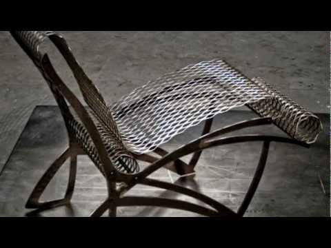 Contemporary Cow Chair | Interior Furniture Design - Metal Chair