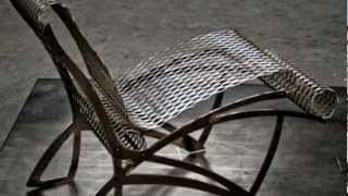 Contemporary Cow Chair | Interior Furniture Design - Metal Chair