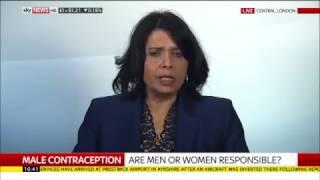 Sky News debate on the Male Pill: Peter Lloyd Vs. Professor Geeta Nargund