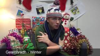 Scottish Gaelic Advent Calendar - Day 2 / Mìosachan na Nollaig - Là 2
