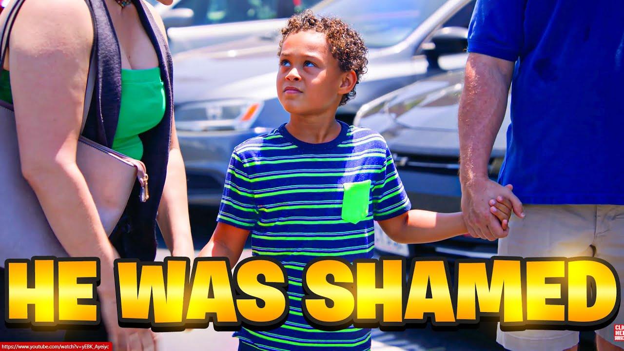 WHITE Dad SHAMED For Having A BLACK Kid