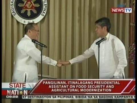 Kiko Pangilinan, itinalagang Presidential Assistant for Food Security and Agricultural Modernization