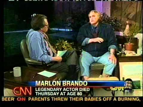 This Entire Larry King Interview, Which Ended with a Kiss