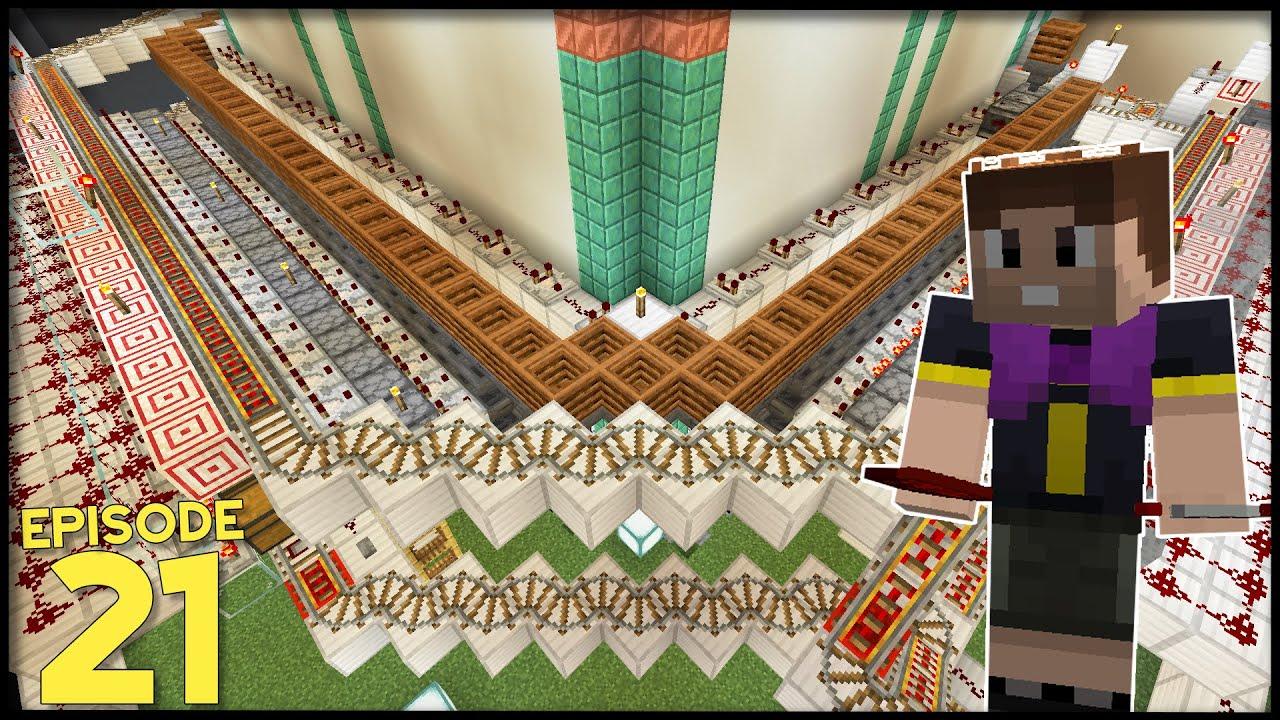 Download Hermitcraft 8   Ep 21: MASSIVE MULTI-ITEM SORTING SYSTEM!