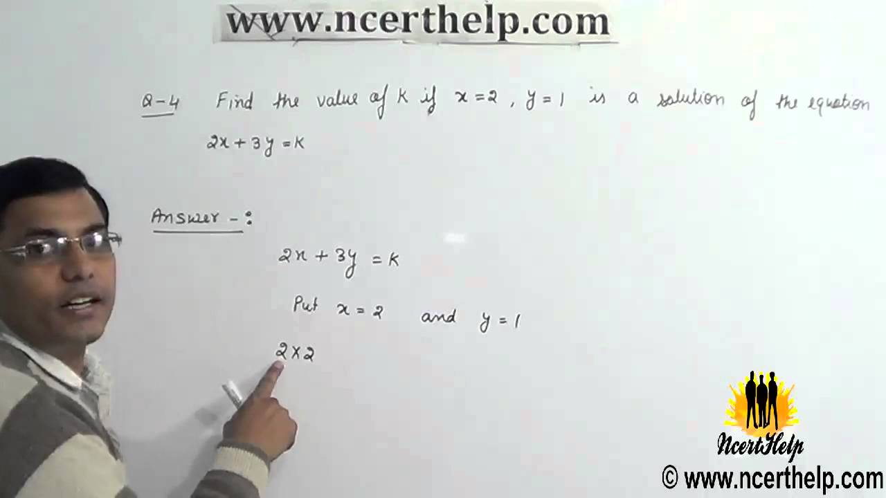 ncert solutions class 9 math chapter 4 exercise 4 2 Question 4
