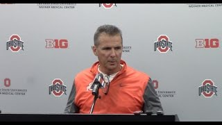 Urban Meyer Monday press conference after Penn State loss