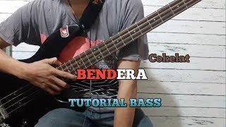 Tutorial Bass || BENDERA - Cokelat (bassist pemula)