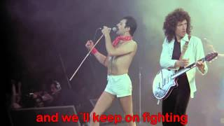 Download Queen - We Are The Champions Letra En Ingles HD (720 p)