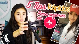 5 TIPS PARA MEJORAR EN MUSICAL.LY Xime Ponch V142