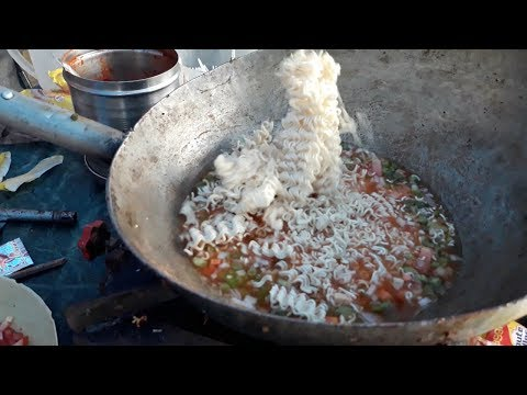 SPICY CHEESY MAGGI Noodles | INDIAN STYLE Instant Noodels | Indian Street Food