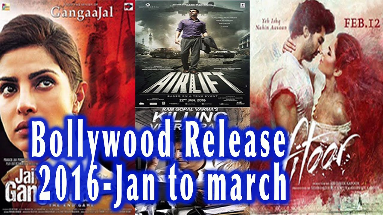 bollywood movie release 2016 january march most anticipated movies youtube. Black Bedroom Furniture Sets. Home Design Ideas