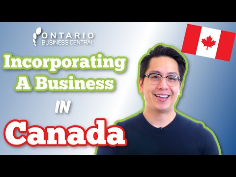 Incorporating A Business in Canada - Corporation Canada