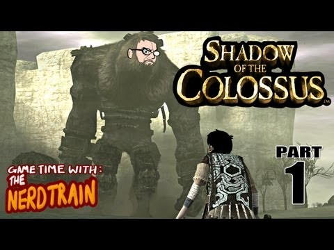 Shadow Of The Colossus - Part 1 - First Colossus - Game Time with The Nerd Train