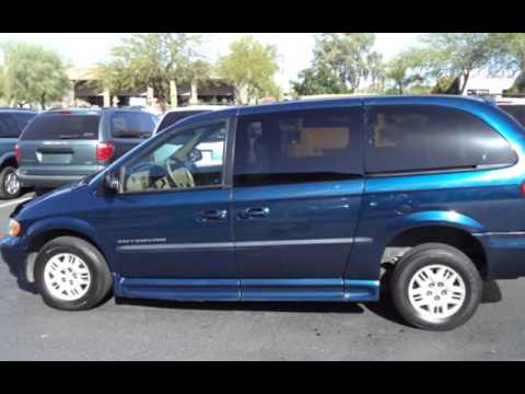 1aded977a9d659 2002 Dodge Grand Caravan Wheelchair for sale in SCOTTSDALE