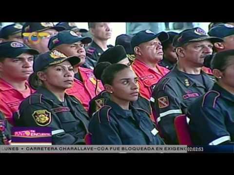 Reverol: Hemos ascendido a 2.389 bomberos en reconocimiento de su labor
