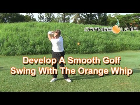 Develop A Smooth Golf Swing Tempo With The Orange Whip Trainer