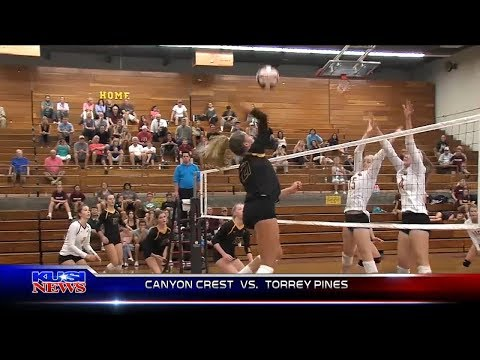Girls Volleyball Canyon Crest vs. Torrey Pines