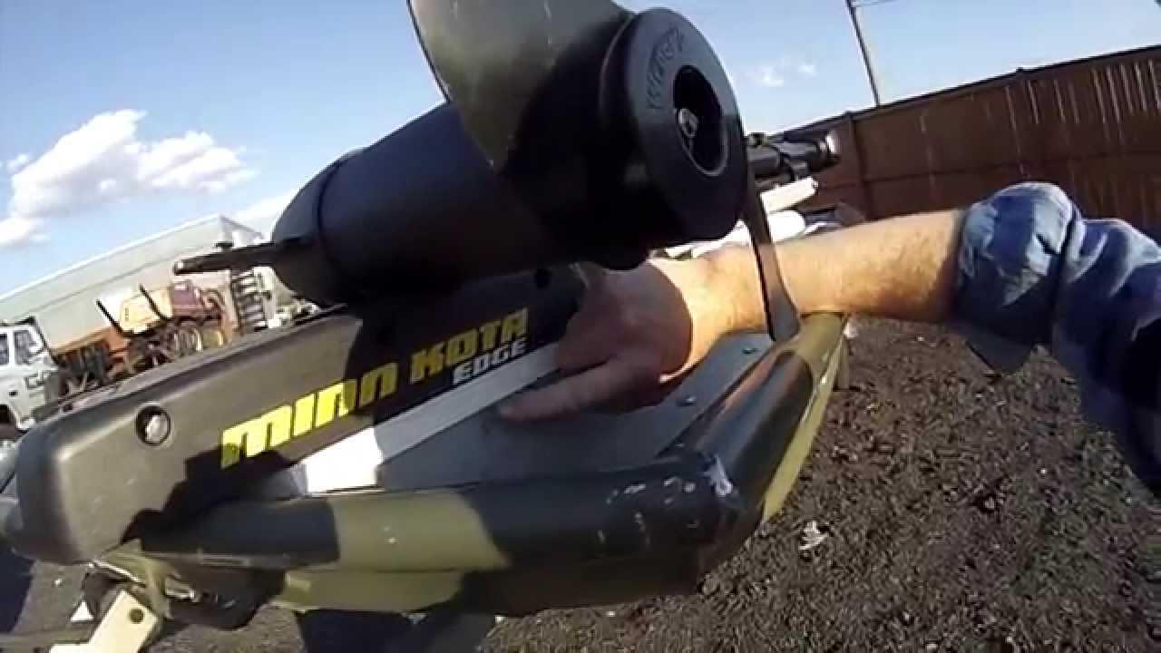 Jon boat project trolling motor mount doovi for Trolling motors for boats