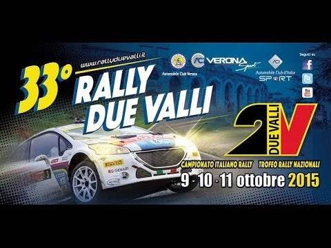 33 Rally Due Valli -  Conferenza Stampa Post Gara * 11 Ottobre 2015