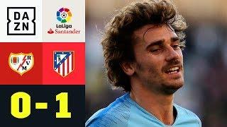 Antoine Griezmann mit Dusel-Tor zum Derbysieg: Rayo - Atletico 0:1 | La Liga |  DAZN Highlights