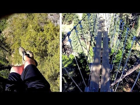 Ziplines Pacific Crest | HIGHLIGHTS - Wrightwood 2018