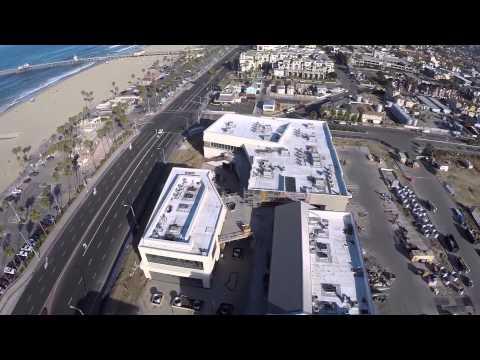 Pacific City Under Construction In Huntington Beach, California