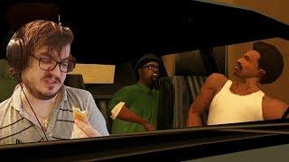 Мэддисон играет в GTA: San Andreas и заказывает все меню в Макдональдс