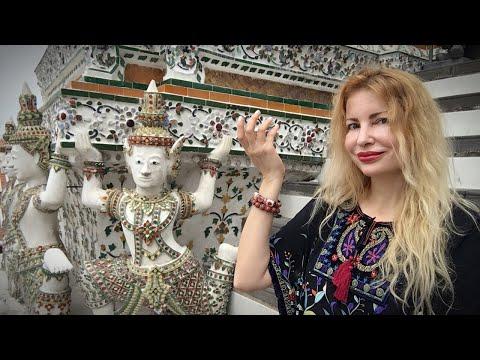 Amazing 😱 DANCERS at WAT ARUN Bangkok with Adeyto