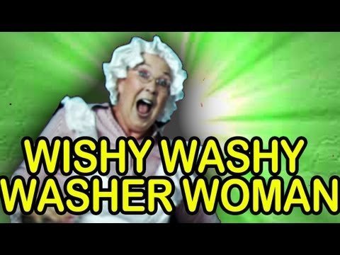 Wishy Washy Washer Woman - The Learning Station