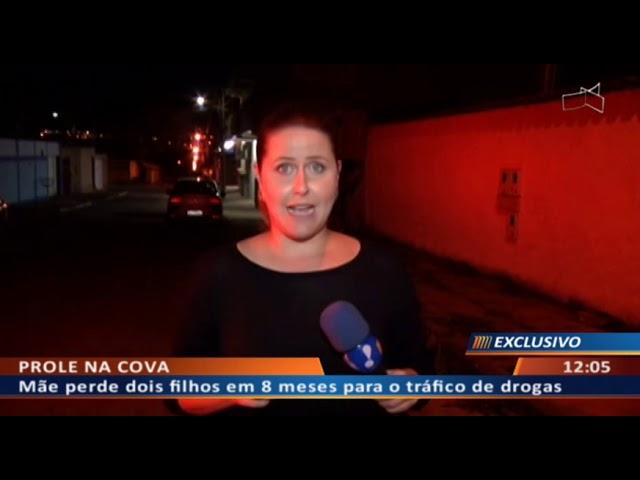 DF ALERTA - Jovem executado após assumir boca de fumo do irmão morto
