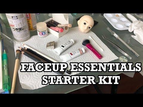 BJD Faceup Essentials Starter Kit   PeachMuffin BJD