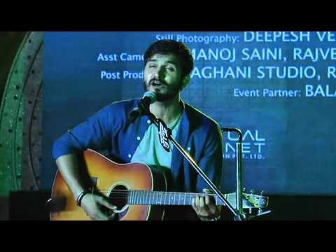 Unplugged of Gajendra Verma @ Ignitia15(The youth fest)