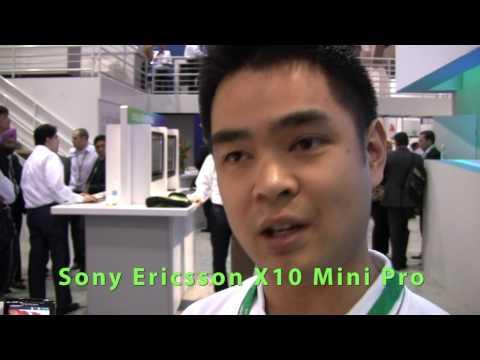 Sony Ericsson Xperia X10, X10 Mini Pro and Vivaz Pro Explained