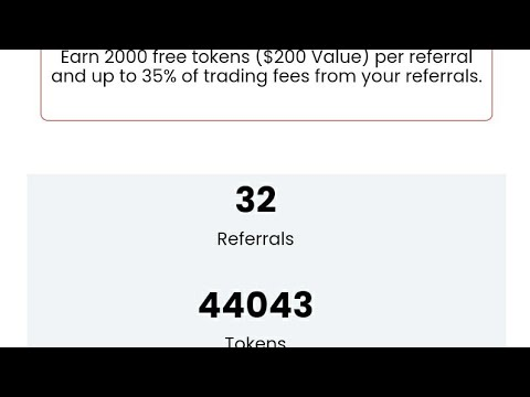 Global Crypto Exchange || 65000 Tocken  / 6500 $ / 455,000 RS || Free registration u will get 100 $