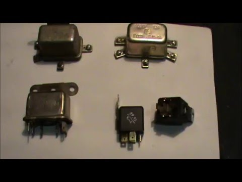 Как проверить, подсоединить реле сигнала,зажигания,стартера......