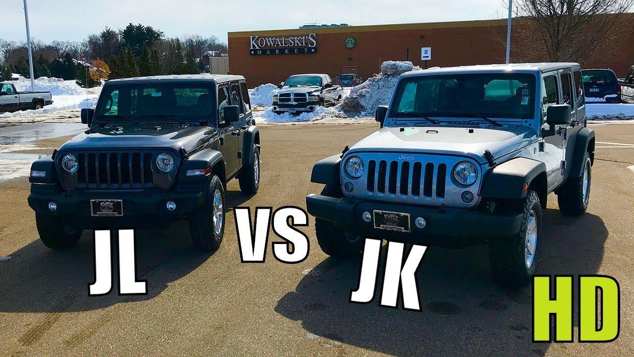 2018 Jeep Wrangler Jl Rubicon Vs Sahara Comparison Youtube