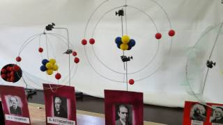 Atom modelleri, atomic models 3D