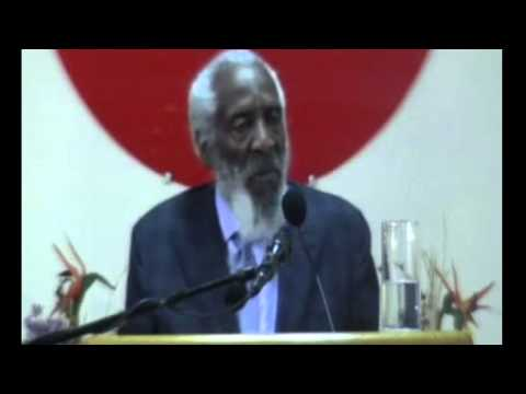 Dick Gregory -  On  Alex Haley -  Bin laden and the  Navy Seals