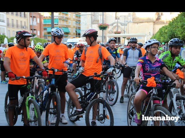 Vídeo: Casi 300 participantes en la Ruta Nocturna en bicicleta