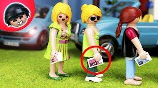 ILLEGALER PARKPLATZ im Garten ist ein Desaster! - Playmobil Polizei Film - Karlchen Knack #351