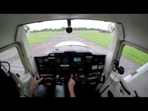 My First Solo Navigation Flight Elstree to Duxford