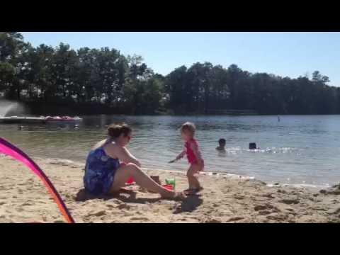 Lake and shore campground June 2013