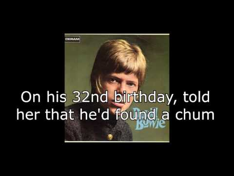 Uncle Arthur | David Bowie + Lyrics