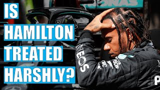 Is Lewis Hamilton Treated More HARSHLY By The Stewards?