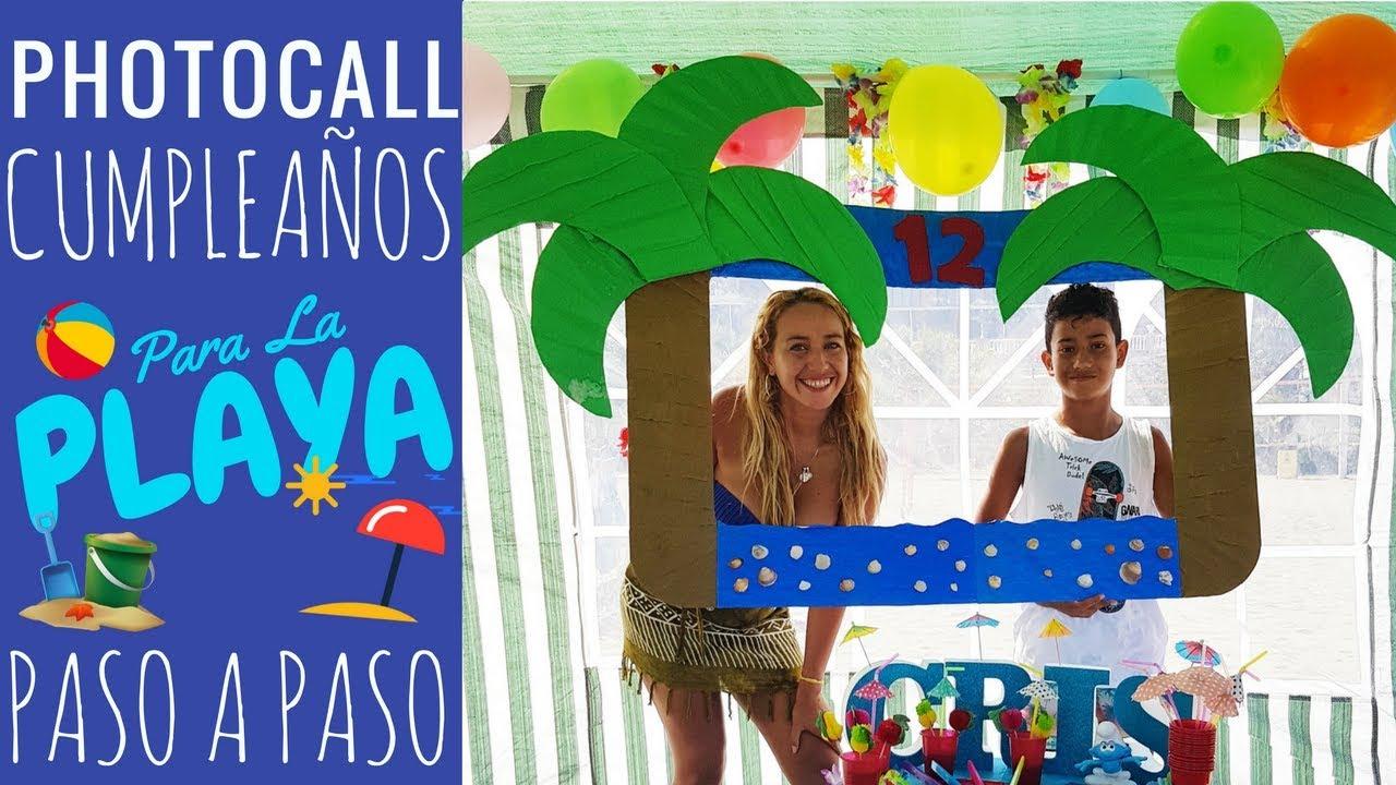 Ideas para decorar cumplea os en la playa piscina verano for Ideas para cumpleanos en piscina